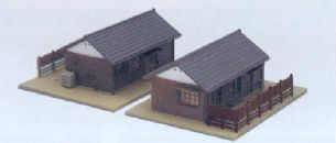 Kato 23-235 Section Houses (2)